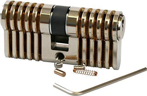 Manipulationszylinder Standard/Profi 5 Stifte, Übungszylinder zum Lockpicking made in Germany von Multipick -
