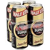 Skol Super Lager 4x500ml (Pack of 24 x 500ml)