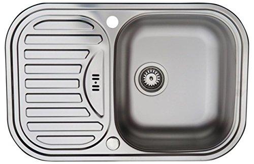 Lavello da cucina in acciaio inossidabile / lavandino MIZZO Sino ...