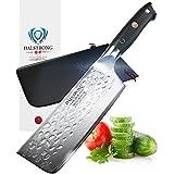 dalstrong Nakiri Couteau à légumes–Shogun série X–VG10–Finition martelée–152mm (15,2cm)