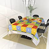 #10: Fashion Hub™ Center Table Cover for 4 seaters with Size (40 x 60 inches) - Multicolor