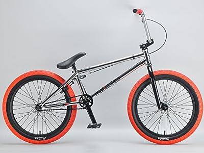 Mafiabikes Kush 2+ 20 inch BMX Bike CHROME by Mafiabikes