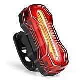 Albrillo COB LED Éclairage Pour Vélo USB Rechargeable - Lampe Arrière Pour Vélo...