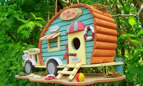 """Hüwüknü Vogelhaus """"Camping Anhänger"""""""