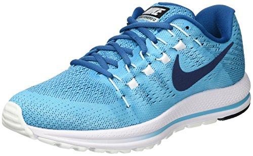 Nike Air Zoom Vomero 12, Zapatillas de Entrenamiento para Hombre, Azul (Bleuchlorine/Bleubinaire), 42 EU