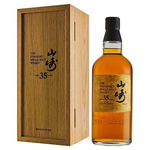 The Yamazaki 35 Year Old Japanease Single Malt Whisky 70c