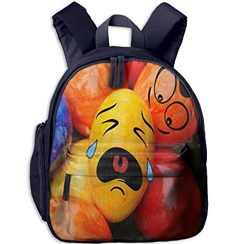 Easter Crying Egg Toddler Kids Pre School Bag Cute 3D Print Children School Backpack