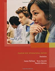 Statistics Pearson New International Edition by Terry T. Sincich James T. McClave (2013-07-29)