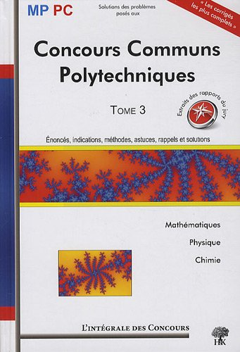 Concours Communs Polytechniques MP/PC : ...
