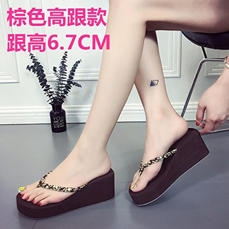 Las parejas flip flops, de fondo plano, de una manera sencilla, los estudiantes usar sandalias, zapatillas, Coreano... -