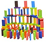#2: HOME CUBE® Standard Wooden Domino Run Board Building Blocks Educational Toys for Children Boy Girl Games Kids Gift - ( Pack Of 120 Pcs )