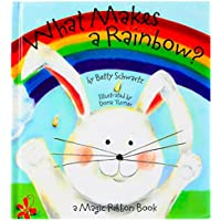 What Makes a Rainbow? Magic Ribbon Book by Piggy Toes Press