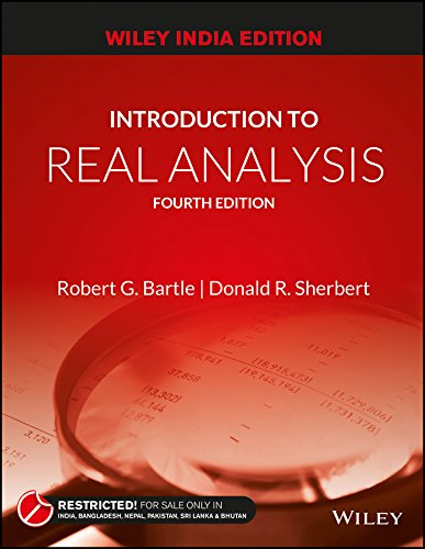 Introduction to Real Analysis, 4ed