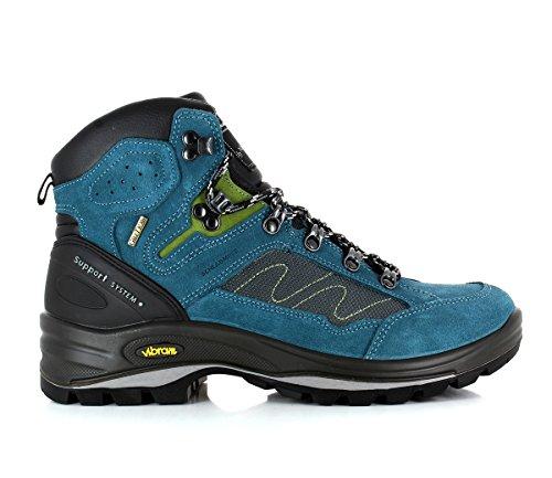 Schladminger Bergschuh ,  Scarponcini da camminata ed escursionismo uomo Blu blu Blu (Blau Kombi)
