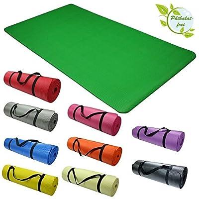 Yoga - Matte - ENERGY 190 cm x 100 cm x 1,5 cm Yogamatte Phthalatfrei