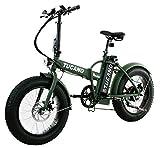 Tucano Bikes Monster 20 - Bicicleta Eléctrica Plegable Fat Bike 20' -...