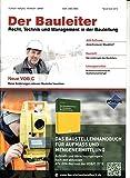 Bauleiter 11 2015 Baurecht AVA Software Zeitschrift Magazin Einzelheft Heft Recht Technik Management Bauleitung