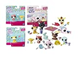 Hasbro–Littlest Pet Shop–Littles Pep Couples with Accessories, Multicolor (Habro 9358b)