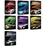 Fast & Furious 1 - 7 - Exklusiv 7 limitierte Steelbook Editionen (Deutsche Auflage) Blu-ray