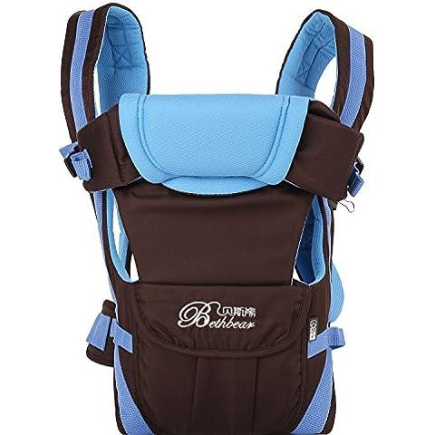 Merssavo Color Azul - Beth Oso Honda del Bebé Anverso Bebé Recién Nacido
