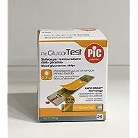 pic gluco Test - 25 Streifen für die Kontrolle der Blutzucker preisvergleich bei billige-tabletten.eu