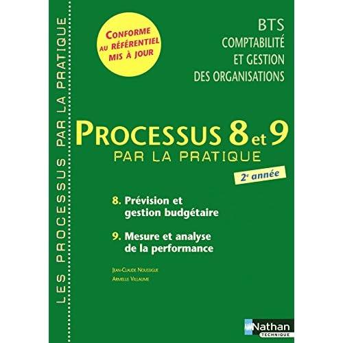 Processus 8 et 9 - Prévision et gestion budgétaire - Mesure et analyse de la performance - BTS CGO 2e année