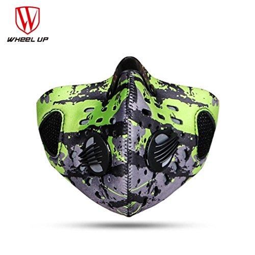 rad Maske SOMESUN Face Shield Sturmmaske fürs Fahrrad / Ski / Snowboard / Paintball / Klettern (Green) (Tokyo Halloween-festival)
