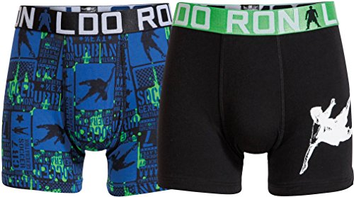 CR7 Cristiano Ronaldo Boys Boxershorts Jungen 2-Pack (CR7-8400-5100-514-116/128)
