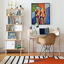 Raybre Art® 20 x 24 pulgadas 100 % Pure Pintados a Mano Lienzo Pintura al óleo - Cuadro Moderno Abstracto Colores Impacto Visual Mayor para Hogar Arte Pared Decoración, sin Bastidor (Arte de cuerpo)