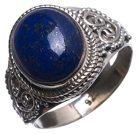Stargems (TM) Lapis Lazuli naturelles fait à la main indien