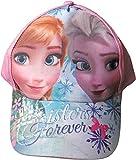 Disney Frozen/Die Eiskönigin Cap - Sisters forever - Träumen mit Anna und Elsa - Rosa/Mehrfarbig