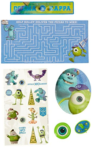 Hallmark BB1TPE1740 Monsters Inc. Party Favor Pk - 48 Piece (Monsters Inc Party)