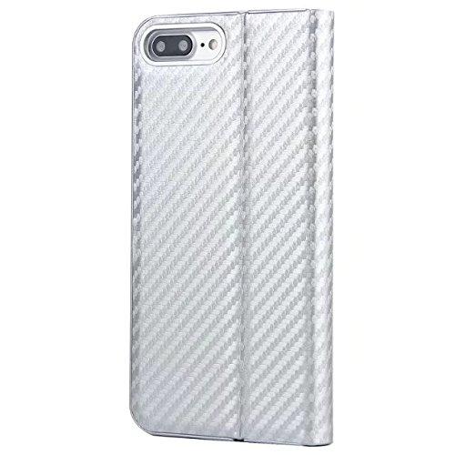 Coque iPhone 7,Coque iPhone 7 Plus, Coque iPhone 6/6S, Coque iPhone 6Plus/6S Plus, Coque iPhone Case cover, [Porte-cartes] étui Protection en Cuir Portefeuille multi-Usage Housse Rabattable(ARD-06) E