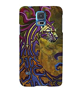 Cheetah 3D Hard Polycarbonate Designer Back Case Cover for Samsung Galaxy S5 mini :: Samsung Galaxy S5 mini Duos :: Samsung Galaxy S5 mini Duos G80 0H/DS :: Samsung Galaxy S5 mini G800F G800A G800HQ G800H G800M G800R4 G800Y