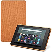 Fire 7 Tablet Case   Compatible with 9th Generation (2019 release), Desert Orange