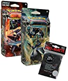 Pokemon - Sonne und Mond Serie 5 - Ultra-Prisma - Themendecks - Deutsch (Set + Hüllen)
