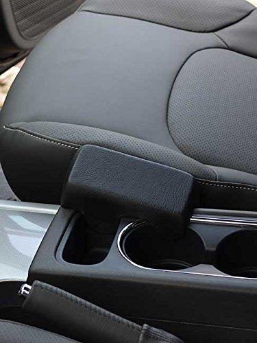 g Echtleder schwarz für Nissan Pathfinder (III R251) (Facelift) ab 2007 / Pick up/Navara ab 08/2005 (D40) ()