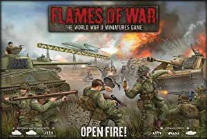 [Import Anglais]FWBX03 Flames Of War Open Fire Boxed Game