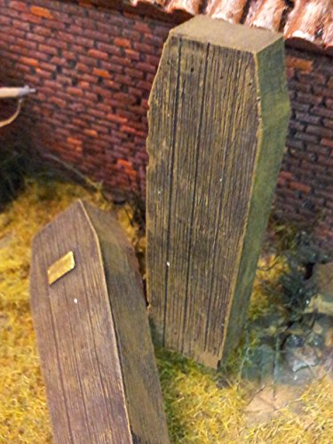 Echelle 1/35Fonte Cercueils en résine (Lot de 2)