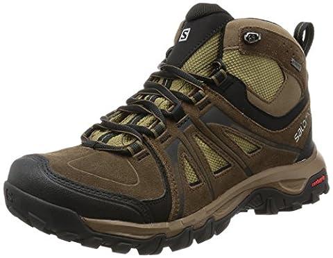 Salomon Evasion Mid GTX, Men's walking and hiking boots, Brown (Absolute Brown-X/Burro/Dark Navajo), 9.5 UK (44 EU)