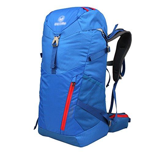 zaino trekking Spalle 30L uomo di grande capienza all'aperto alpinismo Sacchetto di campeggio d'escursione di viaggio Camouflage pacchetto impermeabile Zaini da escursionismo ( Colore : B , dimensioni B