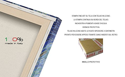 Zoom IMG-2 luxhomedecor quadro il giardino delle
