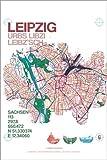 Poster 100 x 150 cm: Leipzig Karte Stadt Stadtplan von Campus Graphics - hochwertiger Kunstdruck, Kunstposter