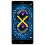 Smartphones Beste Deals - Honor 6X Smartphone (5,5 Zoll (14 cm) Touch-Display, 32 GB interner Speicher, Android 6.0) grau