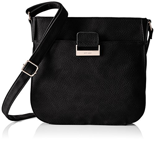 Gerry Weber Talk Different II V, L 4080003711 Damen Schultertaschen 28x26x6 cm (B x H x T), Schwarz (black 900)