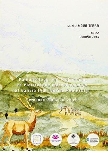 Paleontology And Taphonomy Of Pleistocene Macromammals Of Galicia (Nw Iberian Peninsula) (Nova Terra) por Fernando López González