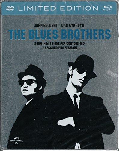 THE BLUES BROTHERS (dvd + blu ray) Steelbook (stickerbook) limitata italiana