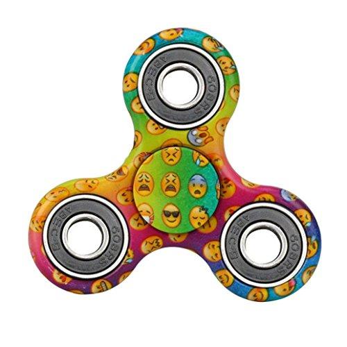 Preisvergleich Produktbild Fidget Hand Spinner Spielzeug Finger EDC Focus Stress Reliever Spielzeug Stress Langeweile Reducer für Kinder Erwachsene (A)