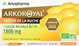 Arkopharma Arko Royal Produits de la Ruche Gelée Royale Bio 1500 mg 20 Ampoules 15 ml