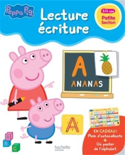 Peppa pig  lecture-écriture PS par Collectif